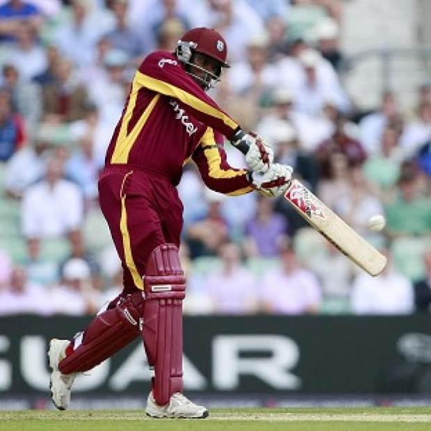 Chris Gayle's power has helped the West Indies to a good start against England