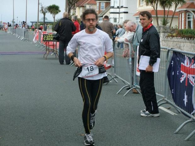 Chris Carver will aim to run 150 miles in a single day