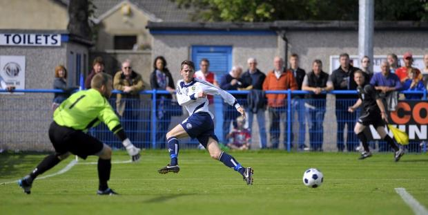 Josh Wilson pumps the ball into the danger area for Nicky Boshell to equalise before getting on the scoresheet himself