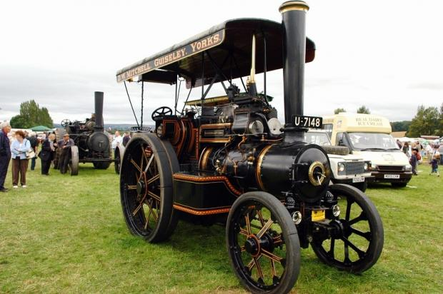 One of the steam engines on display at last year's show