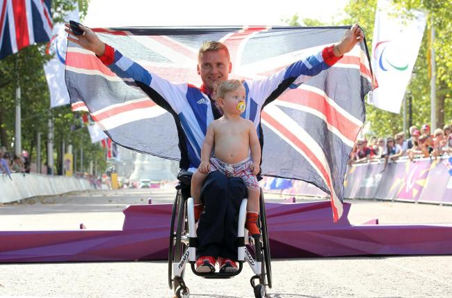 Incredible David Weir makes it four out of four Paralympic gold medals