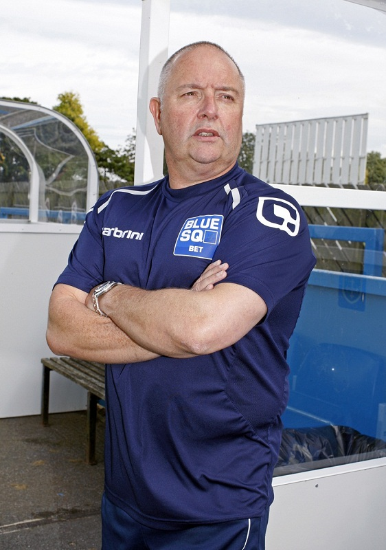 Guiseley boss Steve Kittrick