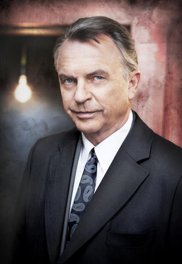 Wharfedale Observer: Sam Neill, among the stars filming a new drama, with scenes shot in locations including Ilkley