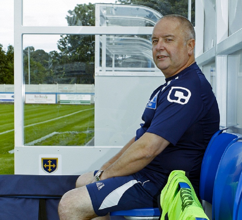 Guiseley boss sees red over ref