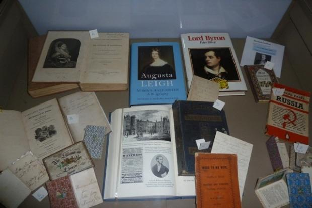 Historically important books donated to the Harewood House secondhand book shop