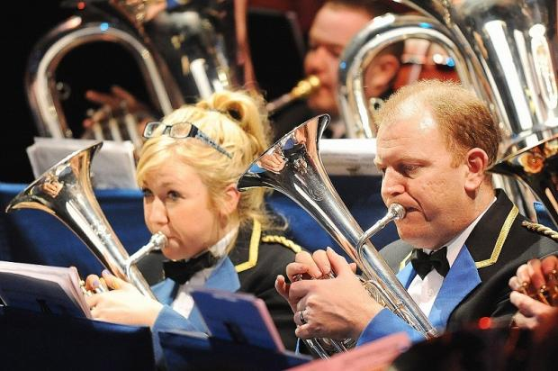 Hepworth Brass Band raises brass at Yeadon concert