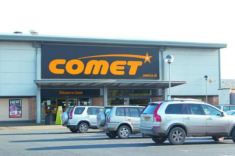 Rescue deal sought after Comet stores hit problems