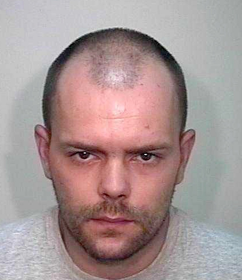 Heroin addict Antony Cameron, who is serving four years behind bars for burgling a house in Menston