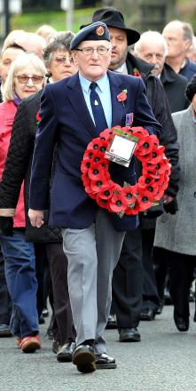 Record turn-out at Otley and Ilkley Remembrance parades