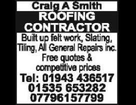 Craig Smith - Roofing Contractor