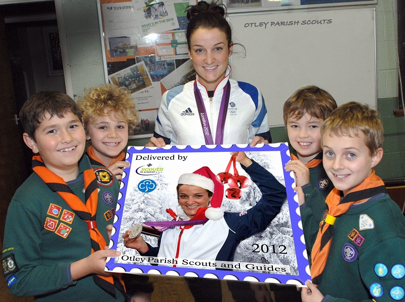 Otley Scouts Get Stamp of