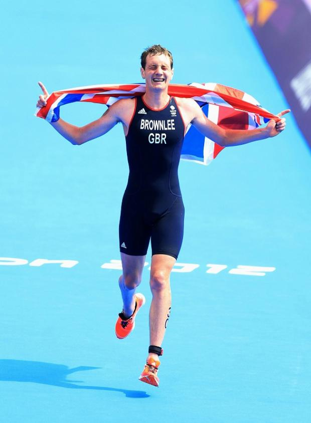 Alistair Brownlee MBE was third in the BBC's Superstars competition