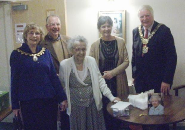 Ilkley resident celebrates her 100th birthday