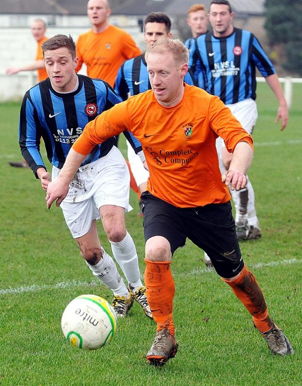 Scott Norton was Otley Town's scorer
