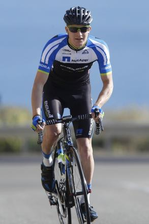 Scott Thwaites is thrilled by the choice of Tour route Picture: Team NetApp Endura/Roth