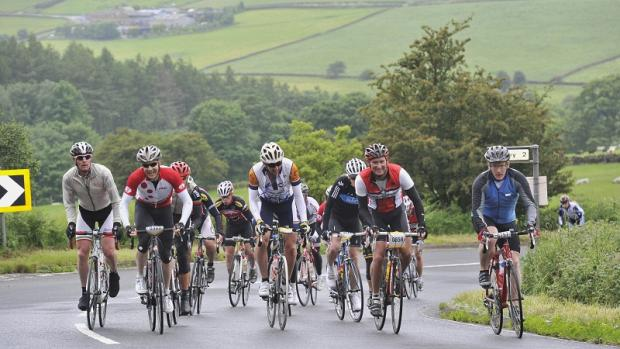 Cyclists have the chance to tackle Tour route