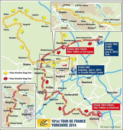 Tour de France 'will be huge boost for the local economy'