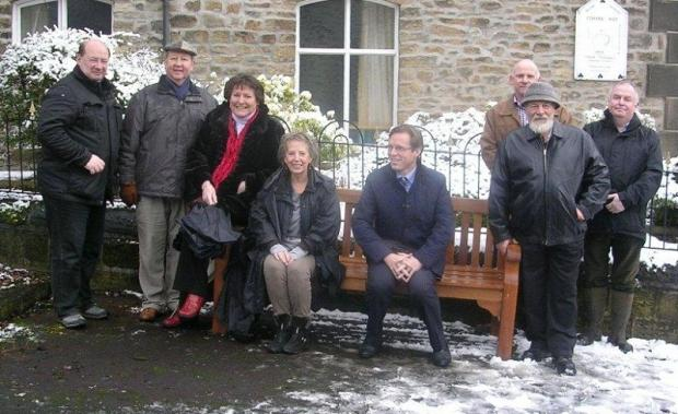 New Addingham benches have been unveiled