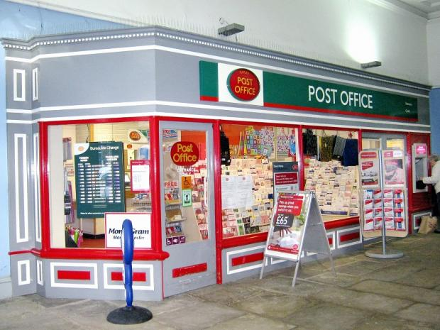 Ilkley Post Office, which is to close for refurbishment in February