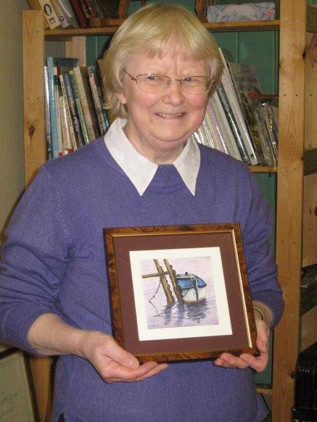 Cynthia scoops Pool Art Group honour