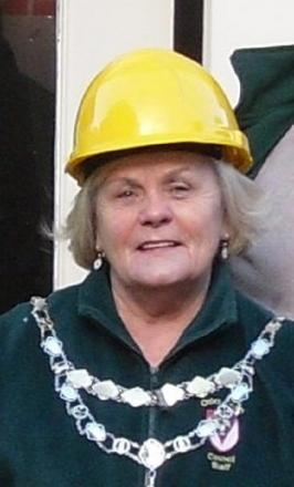 Town mayor Councillor Mary Vickers is backing the scheme