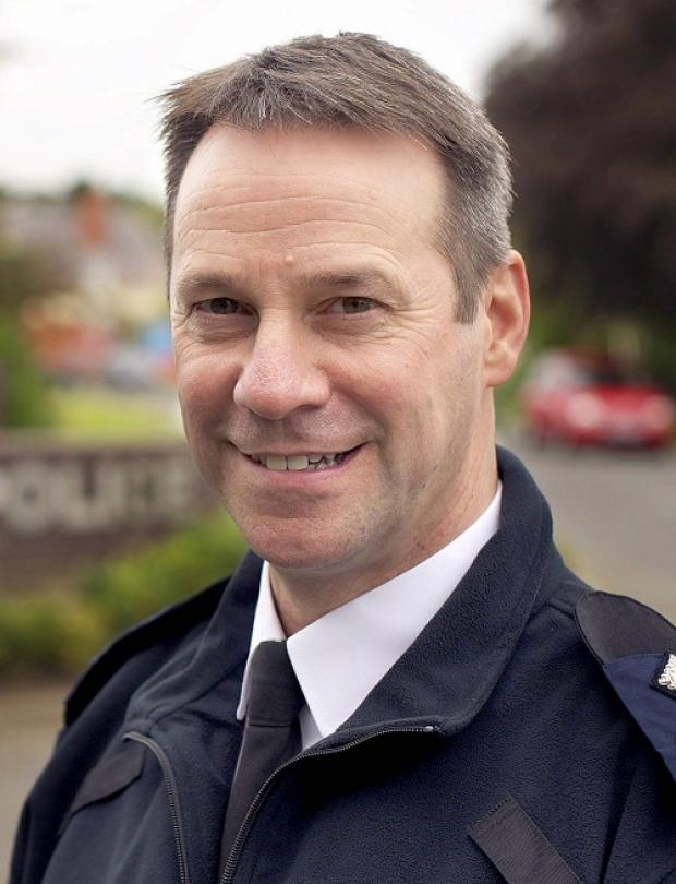 New Chief Constable Mark Gilmore