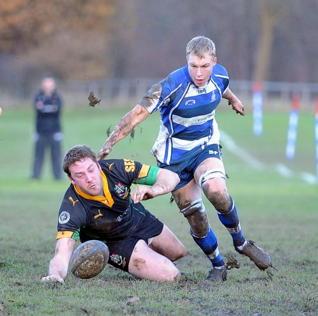Wharfedale Observer: Old Grovian Gareth Phillips will be hoping for a big game against Harrogate Pythons