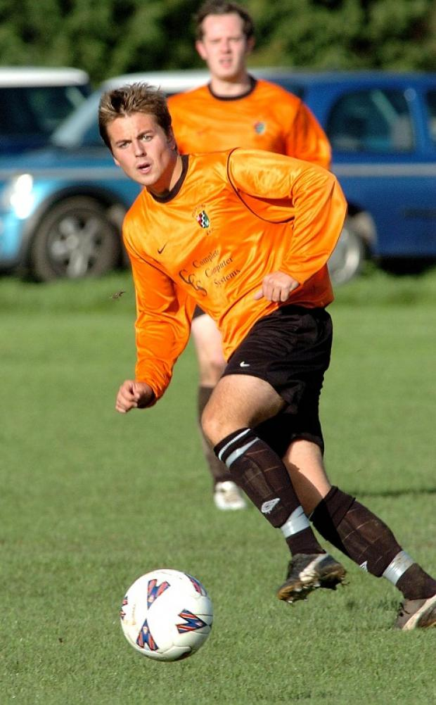 Former Otley Town player Sam Dexter set up goal