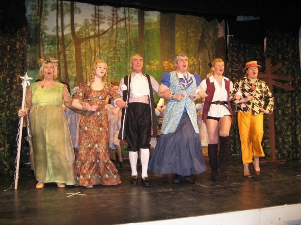 Last year's production of Jack and the Beanstalk by Menston Thespians