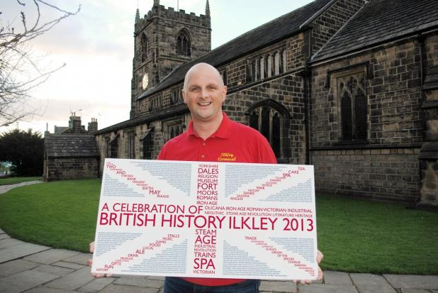 Ilkley Carnival Committee's Colin Watson, who is starting the search for sponsors for this year's event