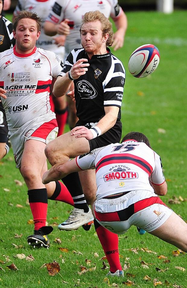 James Twomey was among the tries for Otley