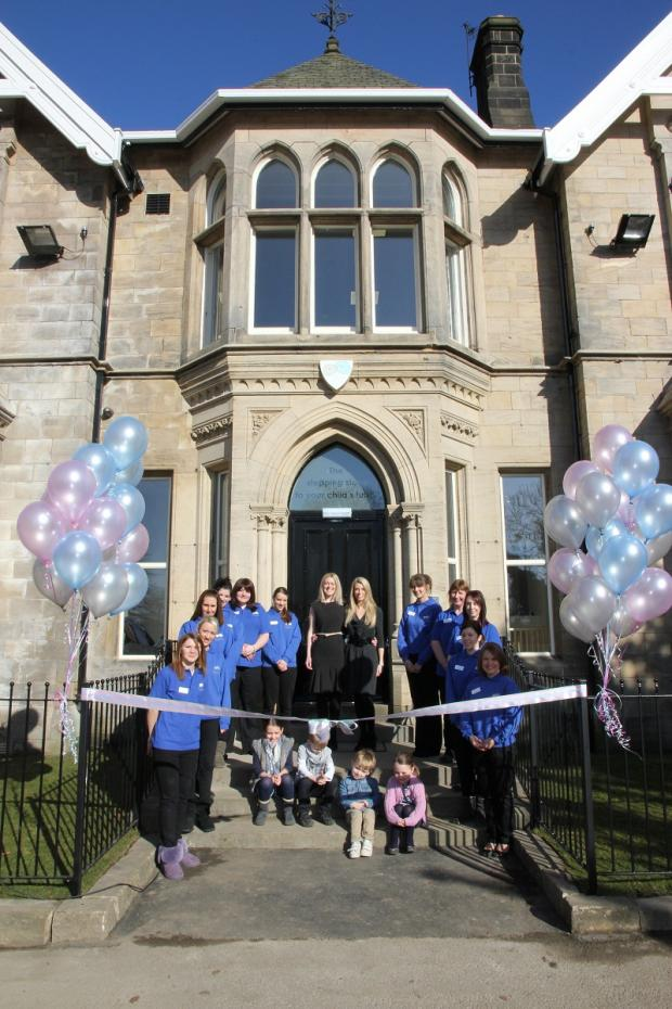 The grand opening of Pebbles nursery and pre-school