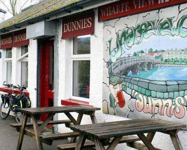 Dunnies, the cafe by the River Wharfe in Otley, is closing its doors for the last time this week