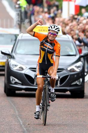 Lizzie Armitstead gained a big win in Holland
