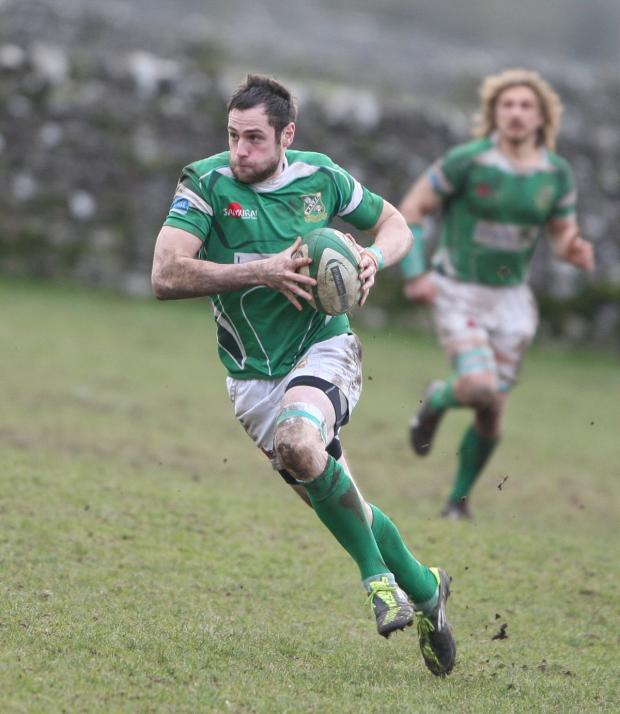 Wharfedale Observer: Adam Whaites is out for the season with ankle ligament trouble