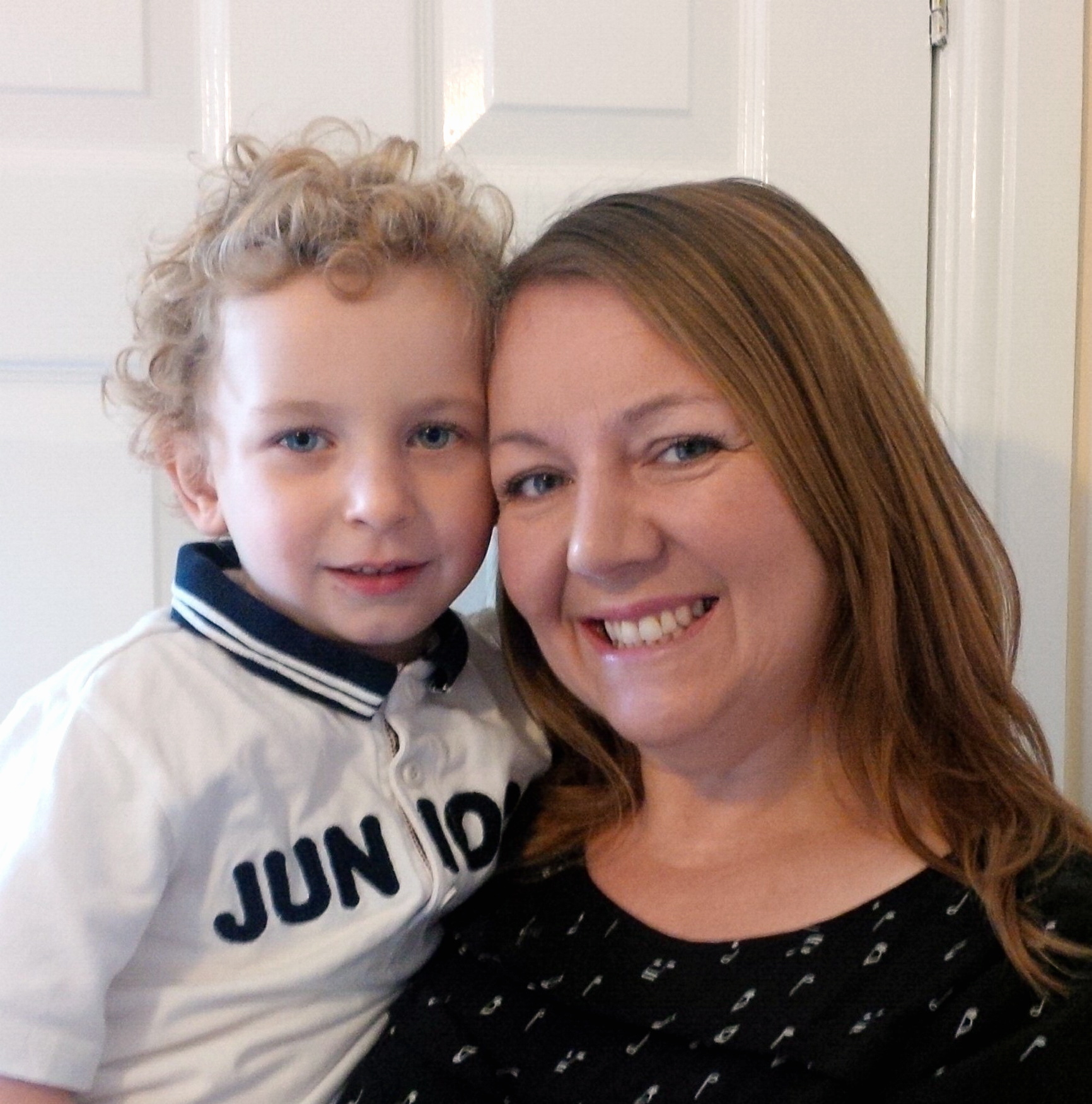Guiseley mum backs cardiomyopathy charity's pancake party fundraiser