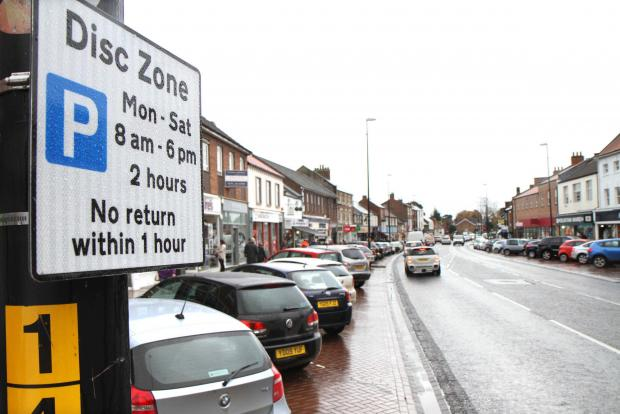 Wharfedale Observer: Call for times restriction on Ilkley street parking