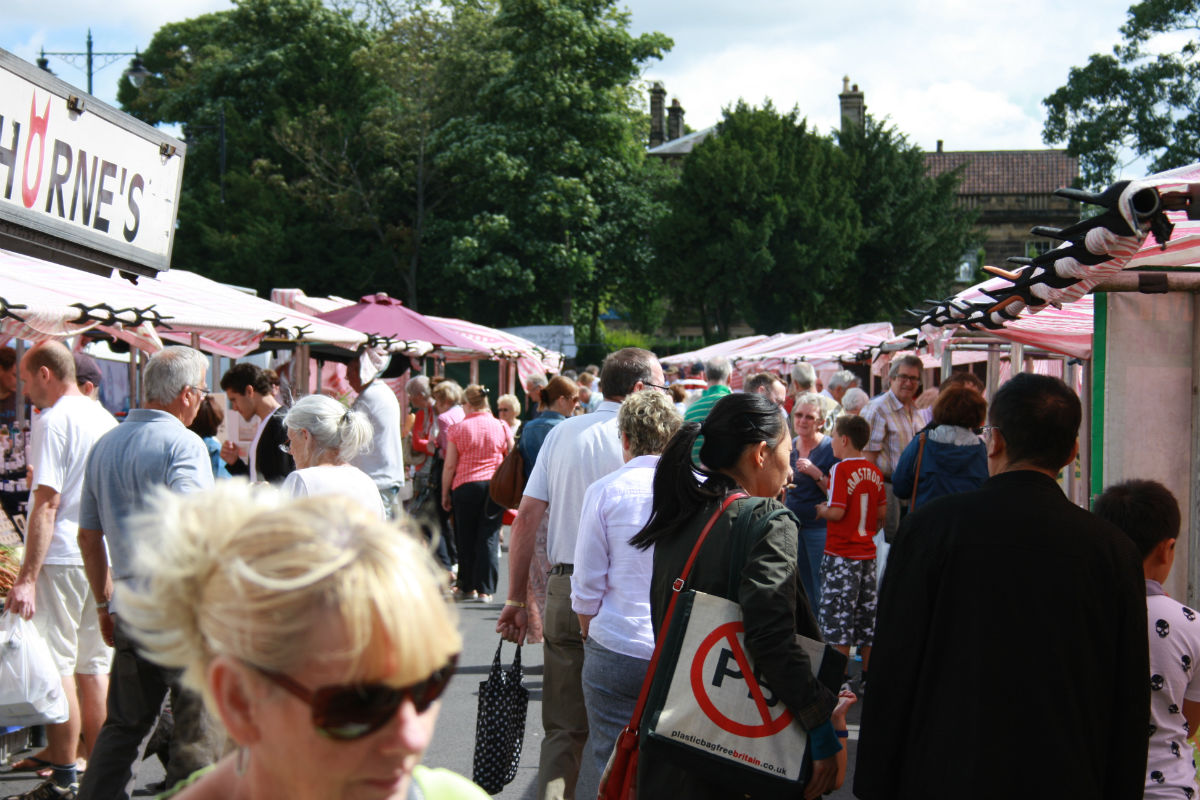 National food award for Horsforth Farmers' Market