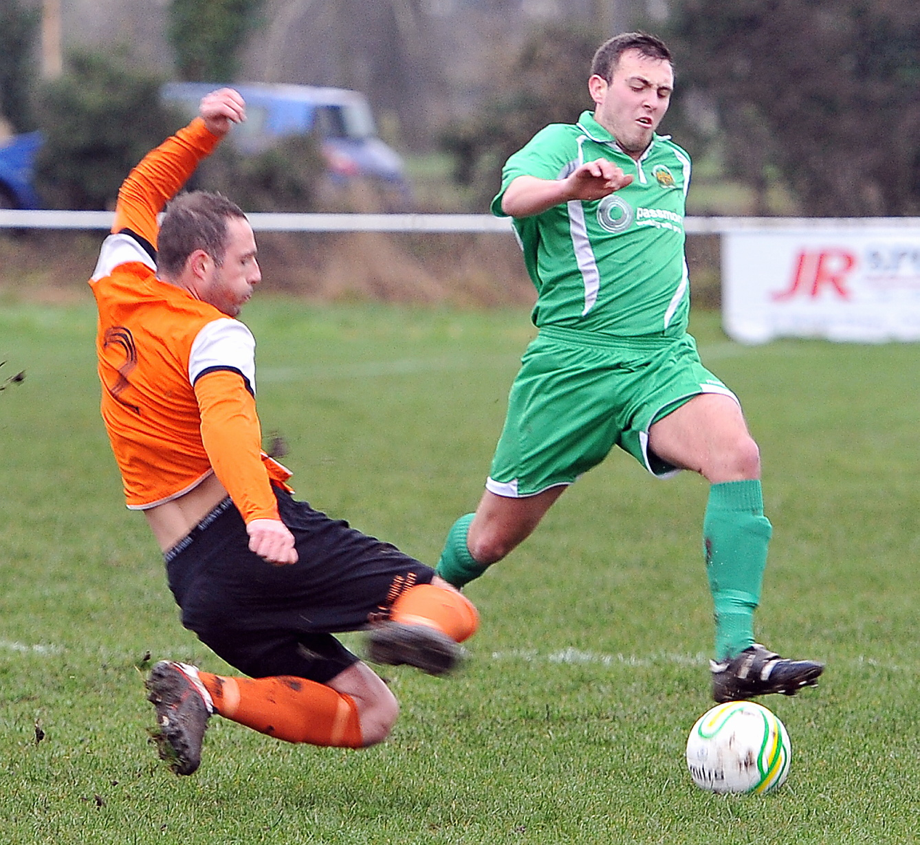 Defender Joe Currie had a fine game