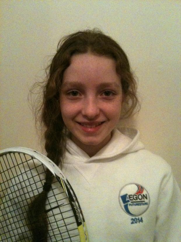 Wharfedale Observer: Amber Woffindin is one of three Ilkley players who are receiving LTA funding and support via the Aegon FutureStars programme