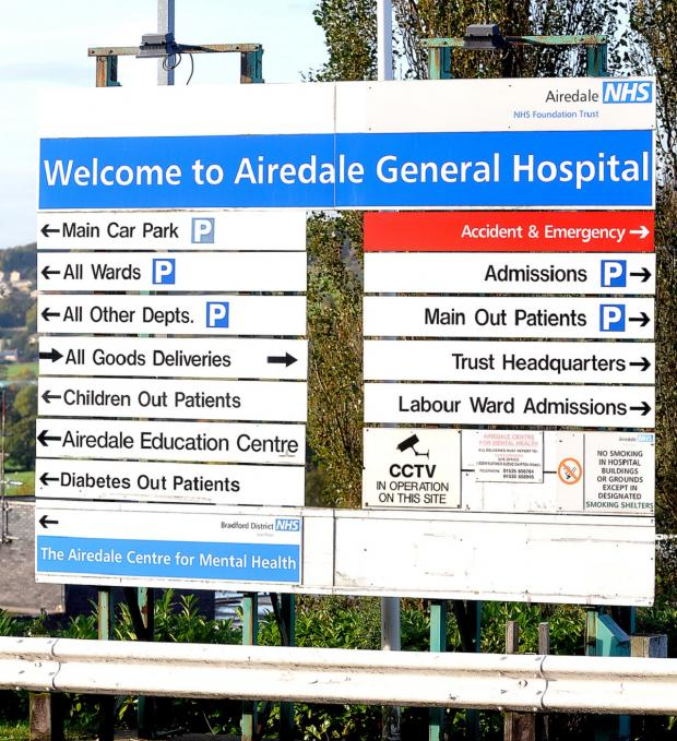 Wharfedale Observer: Airedale Hospital
