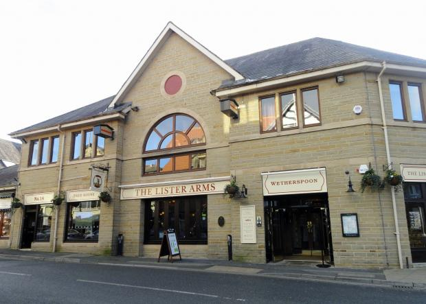 The Lister Arms Wetherspoon's pub in Ilkley