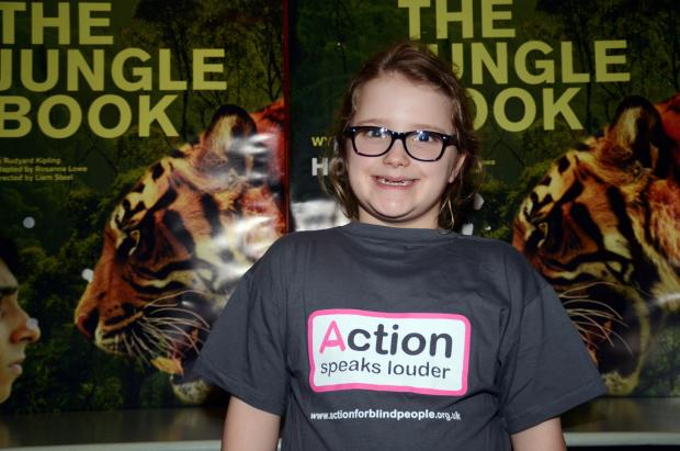Martha Shakespeare at the Jungle Book theatre event