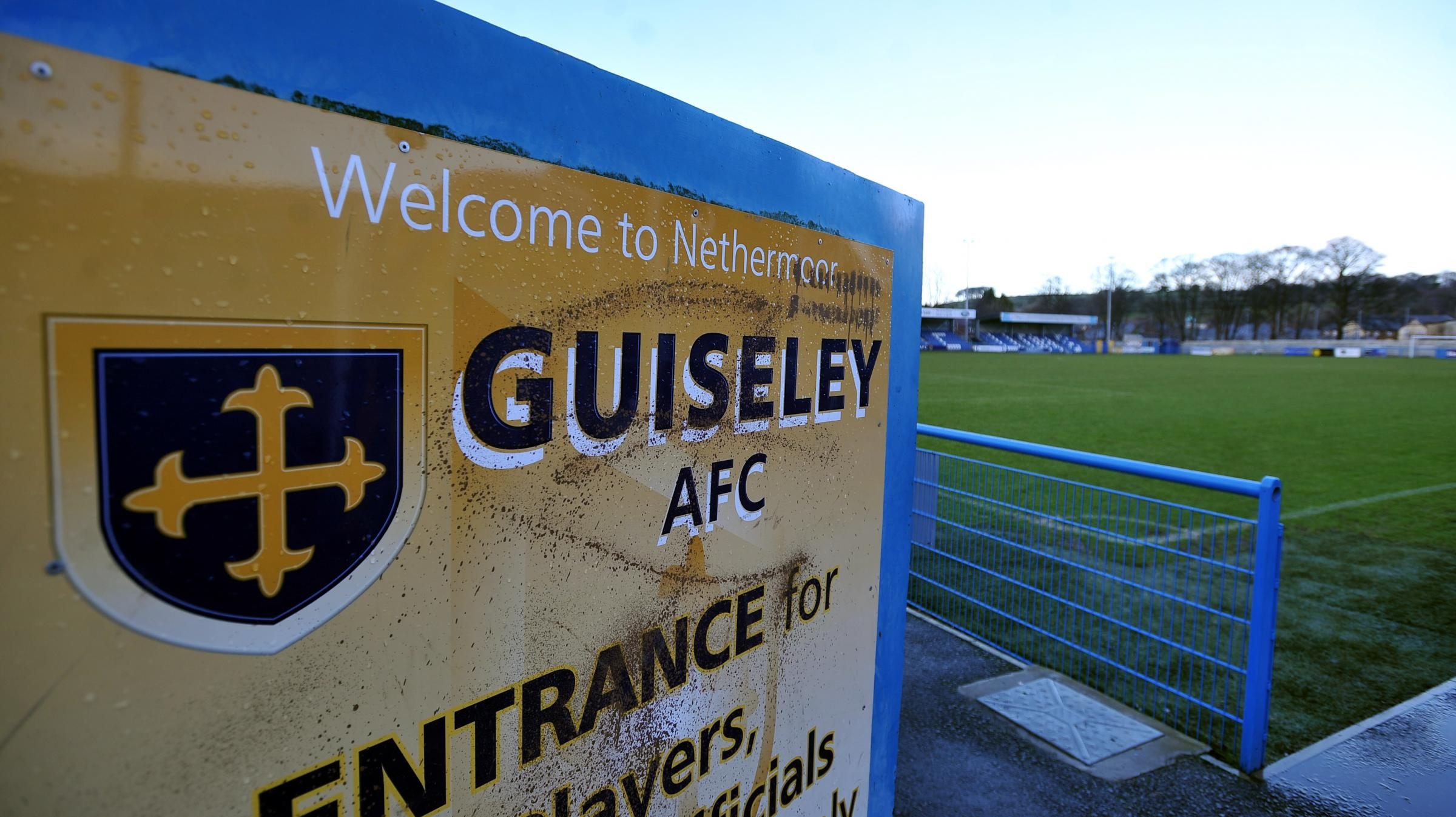 Guiseley's home match has been called off