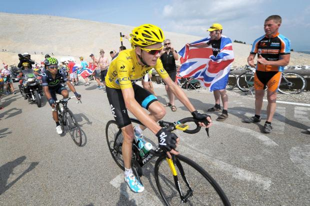 Wharfedale Observer: Chris Froome in last year's Tour de France