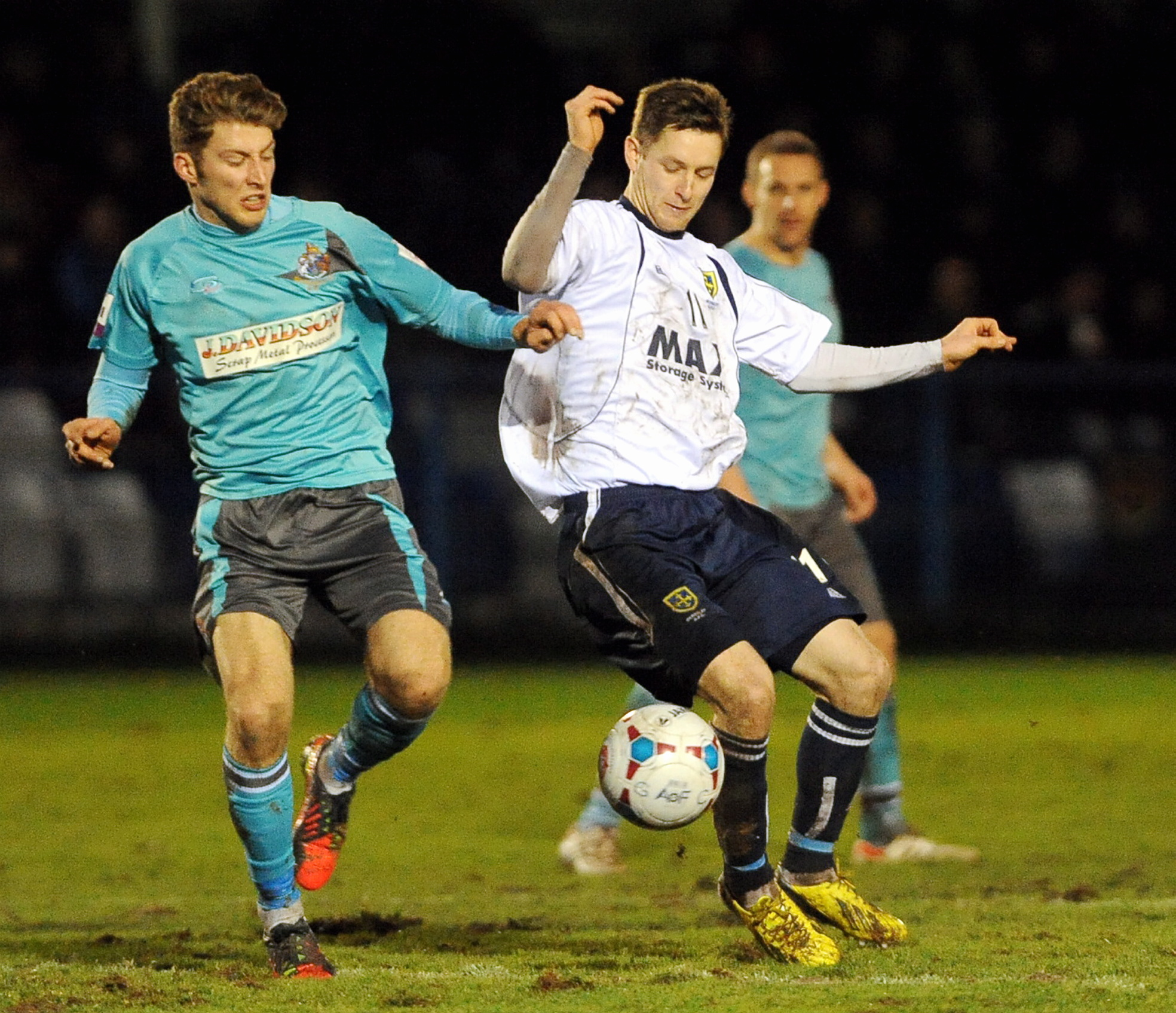 Gavin Rothery netted twice for Guiseley