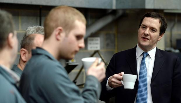 Chancellor says 'impressive' Silsden firm is part of national manufacturing recovery