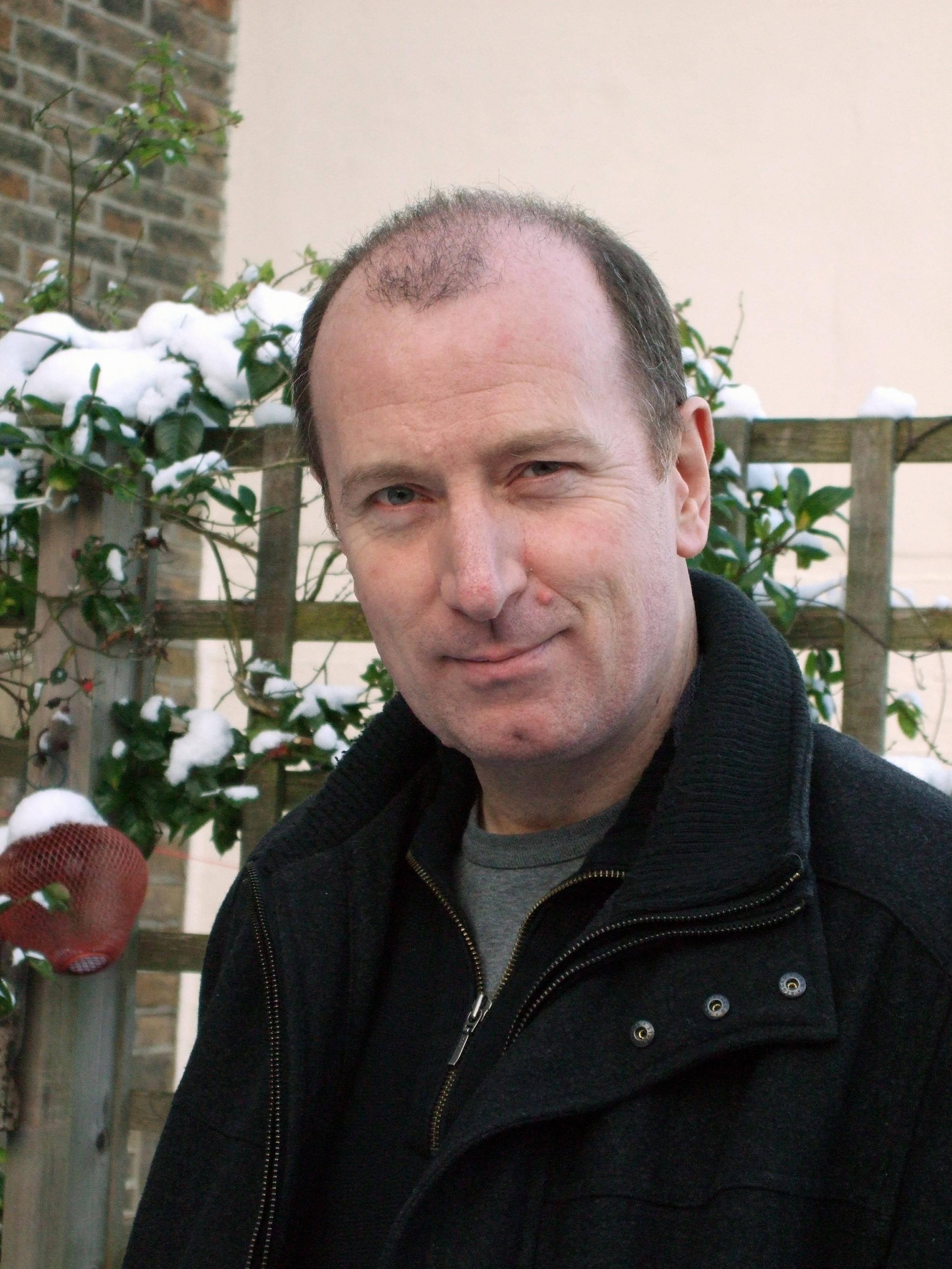 Ilkley author Martyn Bedford, who will be leading a creative writing workshop for youngsters as part of Otley Word Feast
