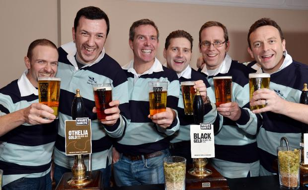 Members of Ilkley Round Table, which organises the festival, from left, Dan Snedden, Martin Fisher, Richard Bradley, Daniel Gray, Adam Poulson and Phil Chapman