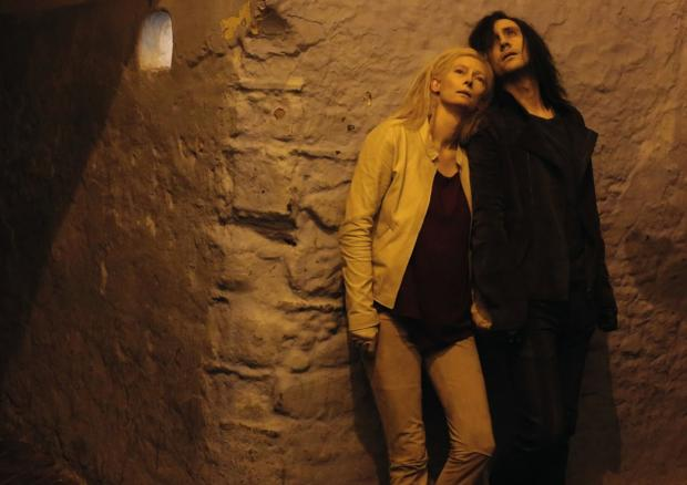 Wharfedale Observer: Tilda Swinton and Tom Hiddleston in Only Lovers Left Alive, which is showing at the King's Hall as part of Ilkley Film Festival tomorrow night